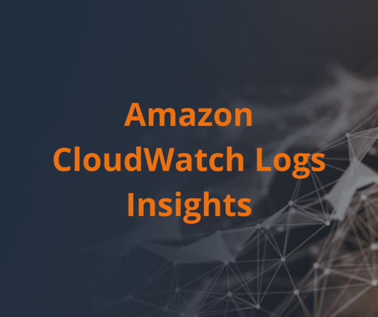Amazon CloudWatch Logs