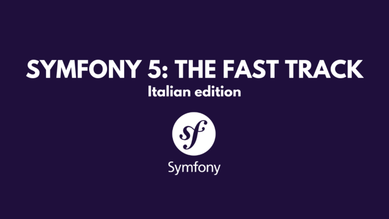 Symfony 5: The fast track Italian edition